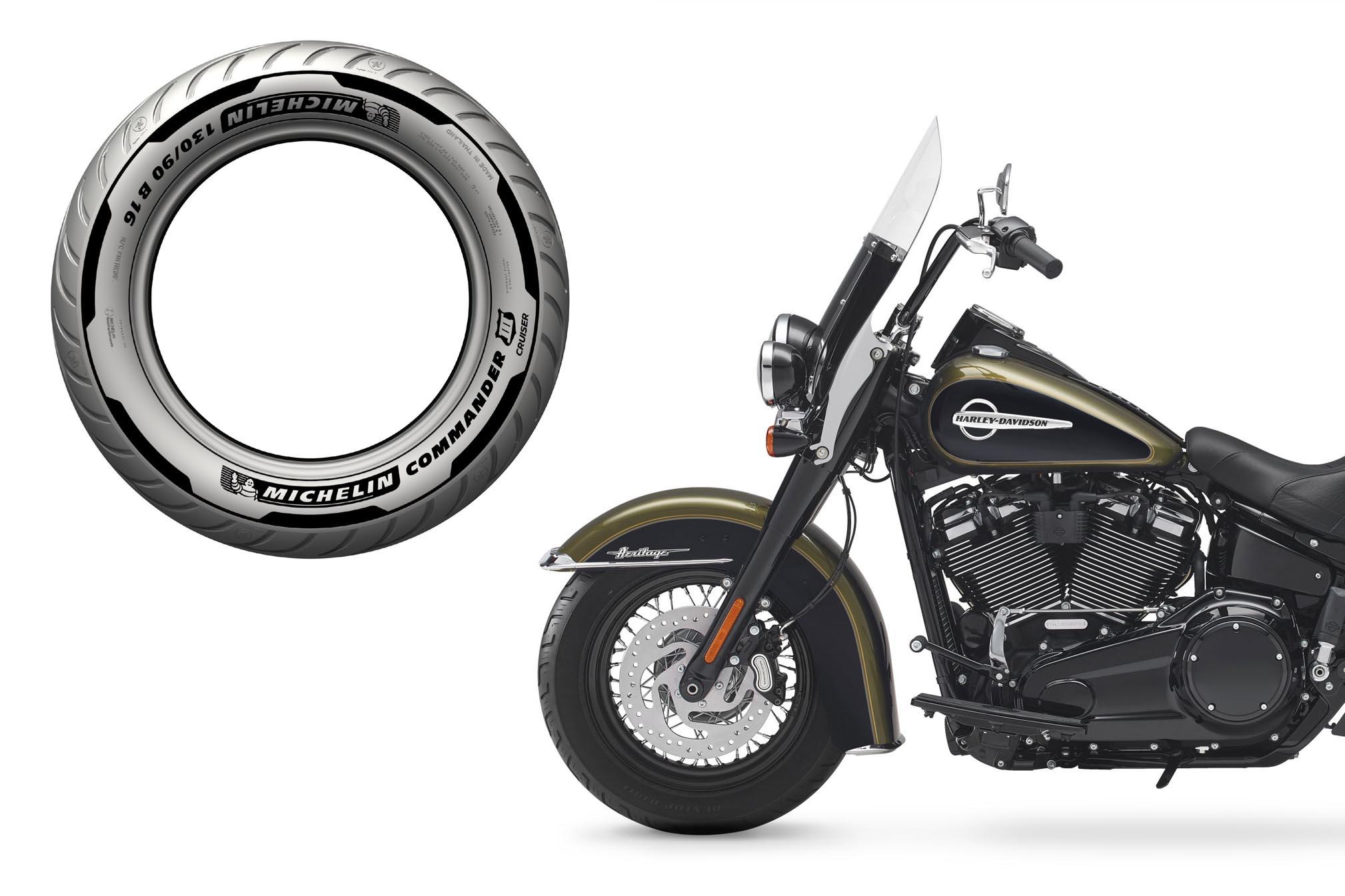 Opony motocyklowe custom test