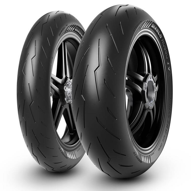 Diablo Rosso pirelli 4 moto opony